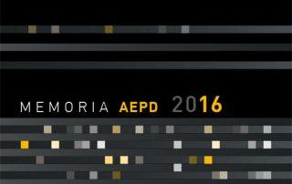 memoria aepd 2016