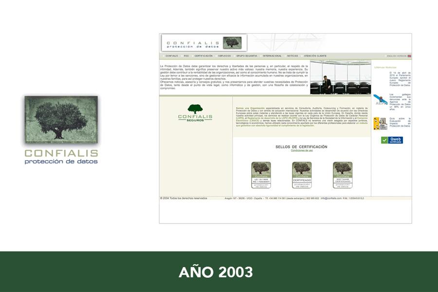 confialis logotipo 2003
